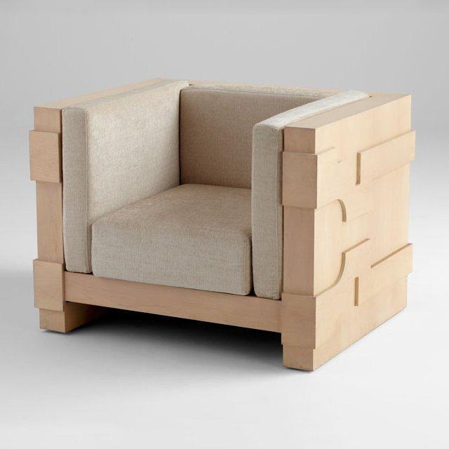 Mr. Pitt Chair by Cyan Design