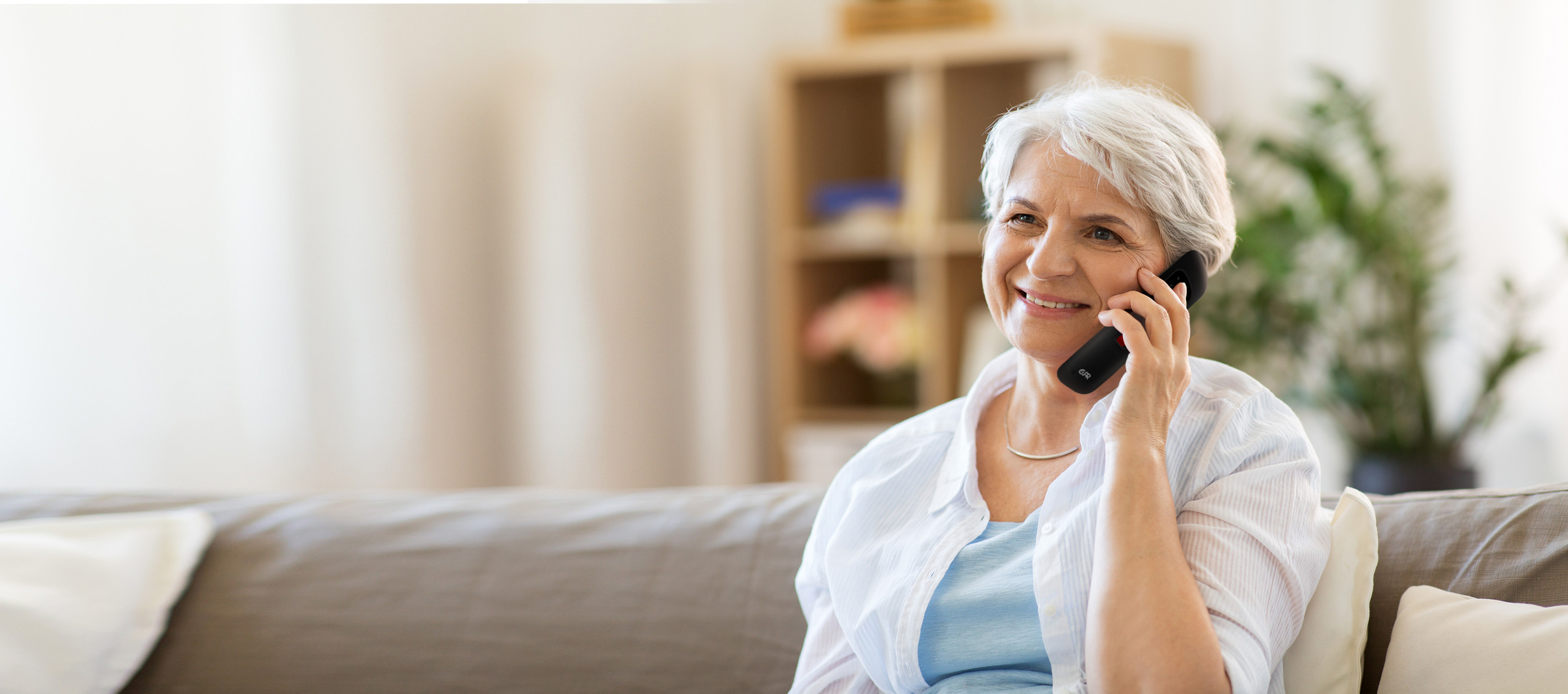 CPR CS900 Flip Cell Phone for Seniors and Elderly with Big Buttons