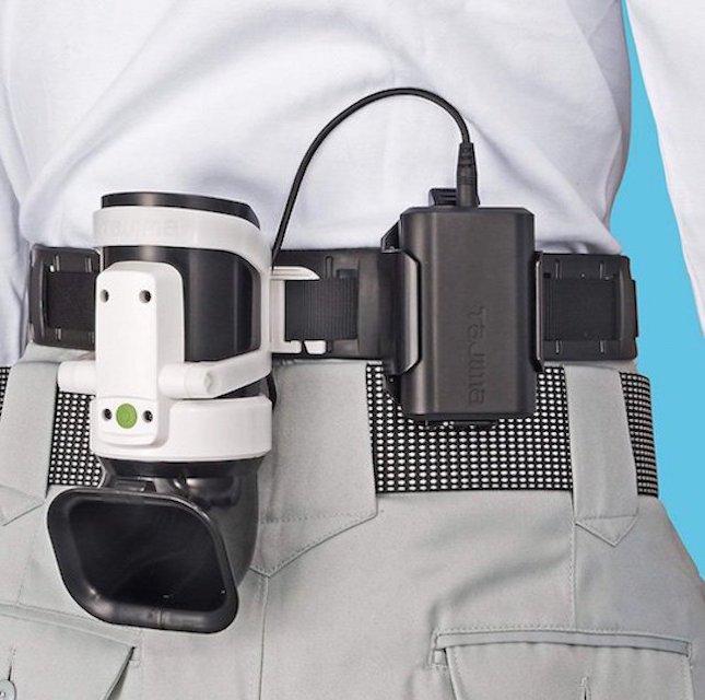 Tajima Clip-on Belt Cooling Fan Body 2 – Wearable climate control device