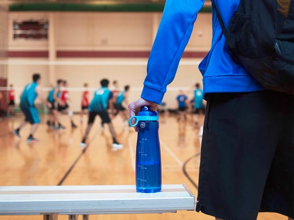 Pogo Tritan Water Bottle with Soft Straw