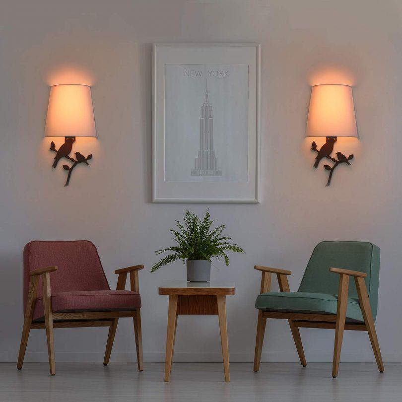Smart LED Wall Sconce Light