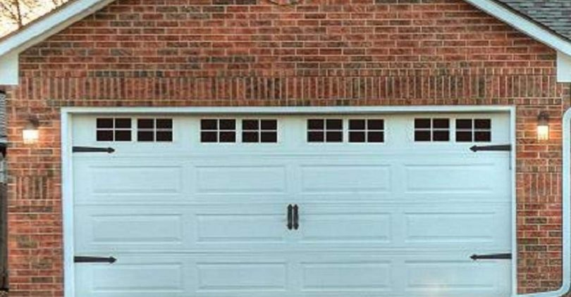 Magnetic Panels for Car Garage Door Decoration