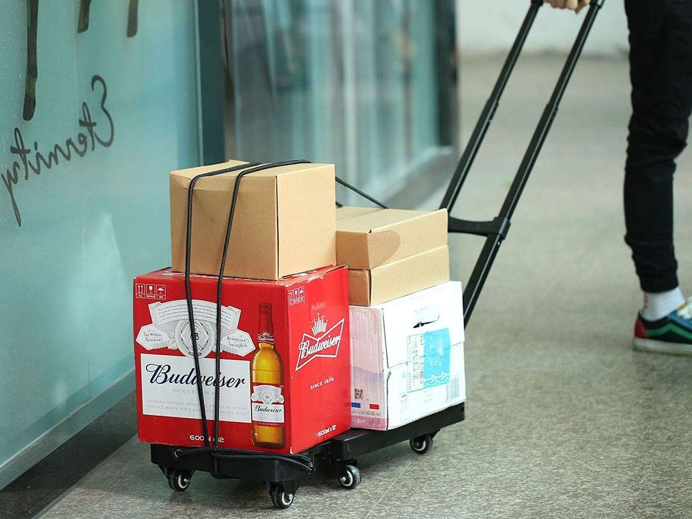 Upgraded Multifunctional Folding Hand Truck Dolly