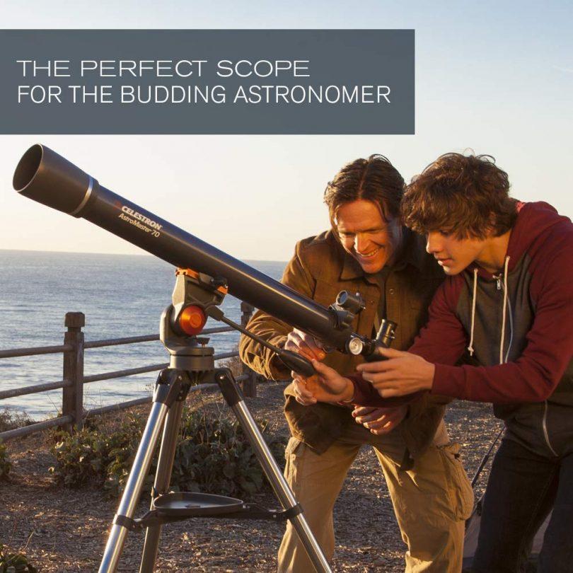 Celestron – AstroMaster 70AZ Refractor Telescope