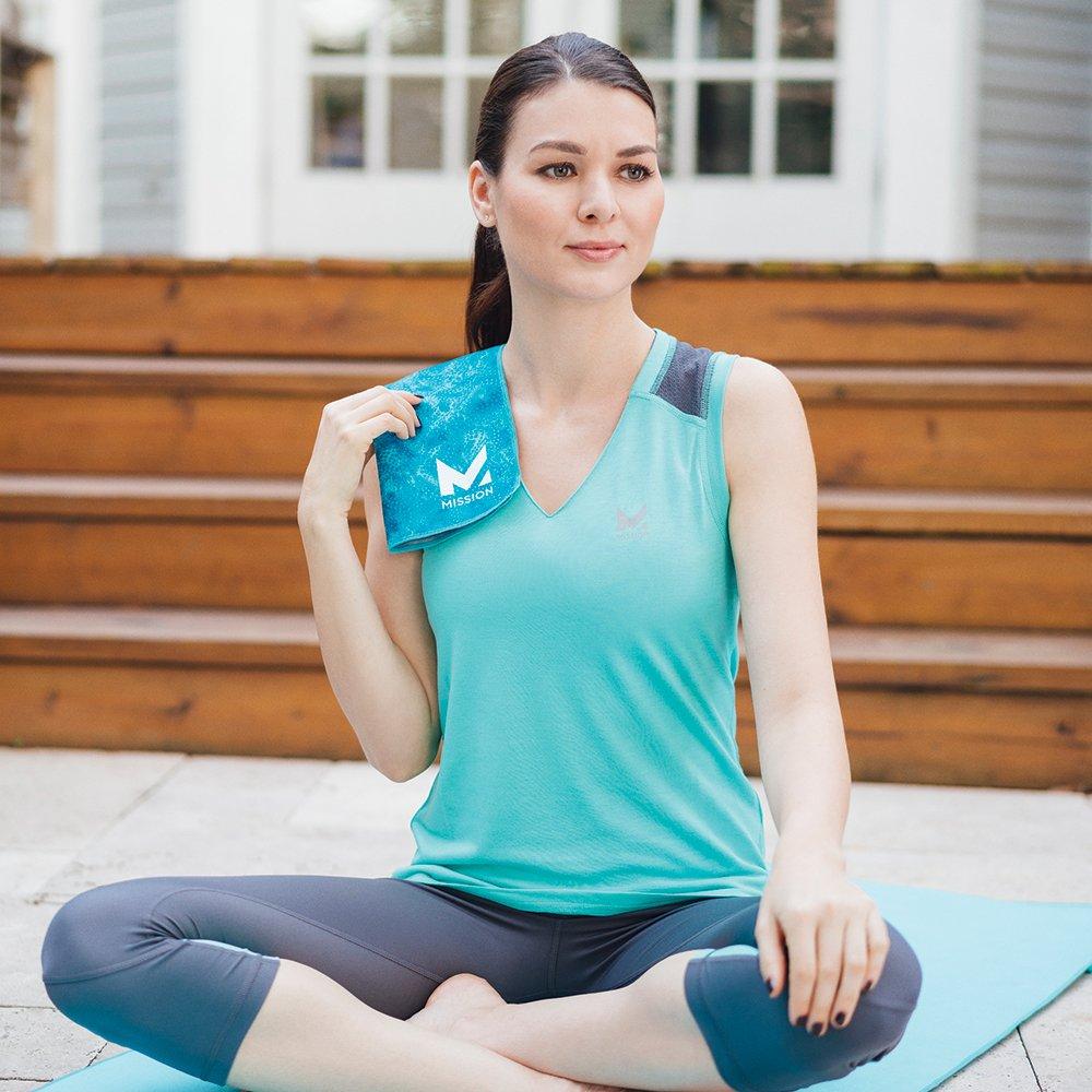 Mission VaporActive Yoga Hand Towel