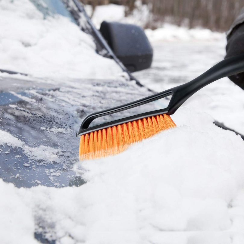 "AstroAI 27"" Snow Brush and Detachable Deluxe Ice Scraper"