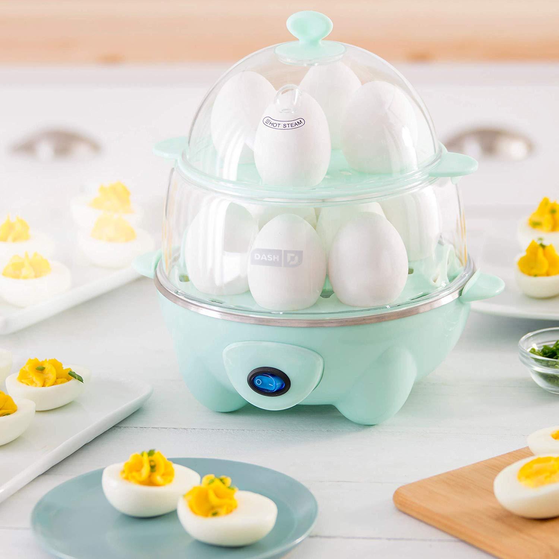 Dash DEC012AQ Deluxe Rapid Egg Cooker