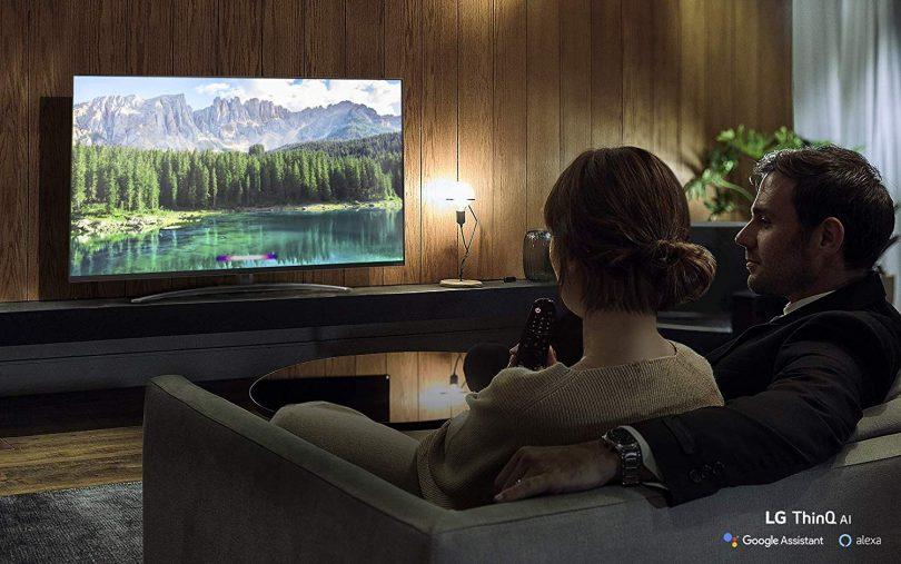 LG 65SM8600PUA Alexa Built-in Nano 8 Series 65″ 4K Ultra HD Smart LED NanoCell TV