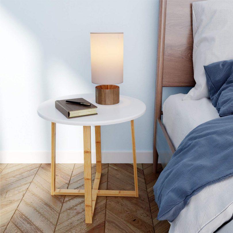 BAMEOS Side Table Modern Nightstand