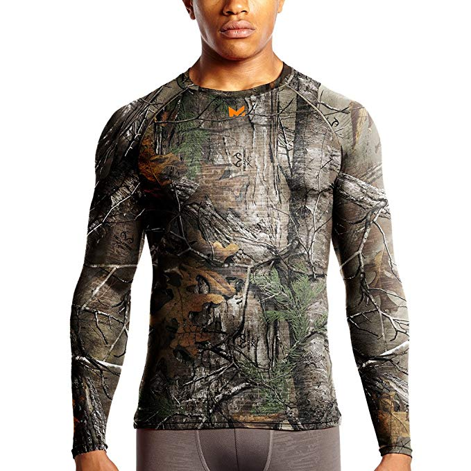 Mission Men's VaporActive Base Layer Long Sleeve Top
