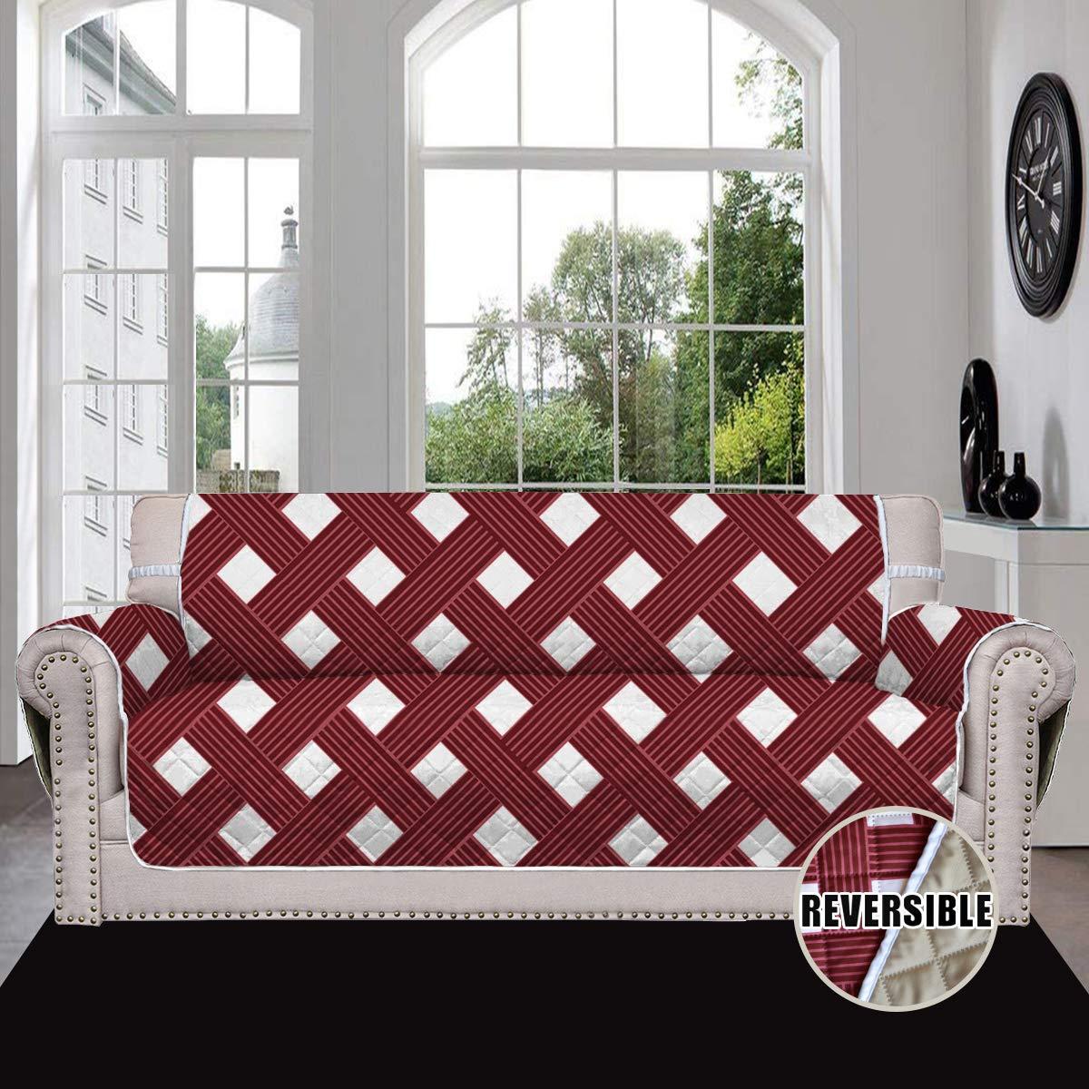 Easy-Going Sofa Slipcover Reversible Sofa Cover Furniture Protector
