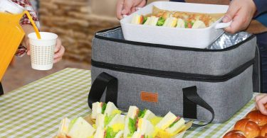 Lifewit Double Decker Casserole Carrier