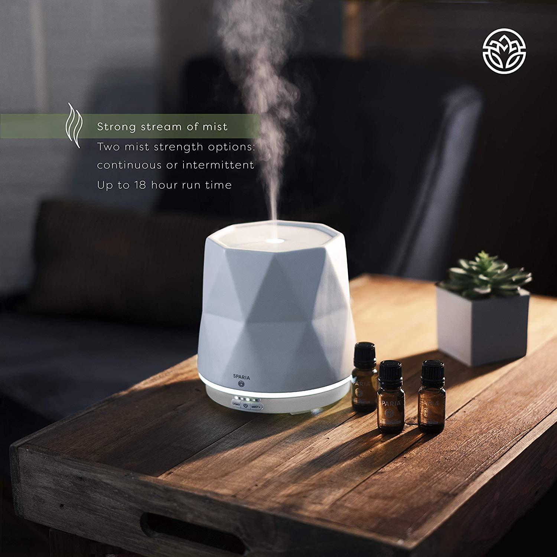 SPARIA 300ml Ceramic Aroma Diffuser