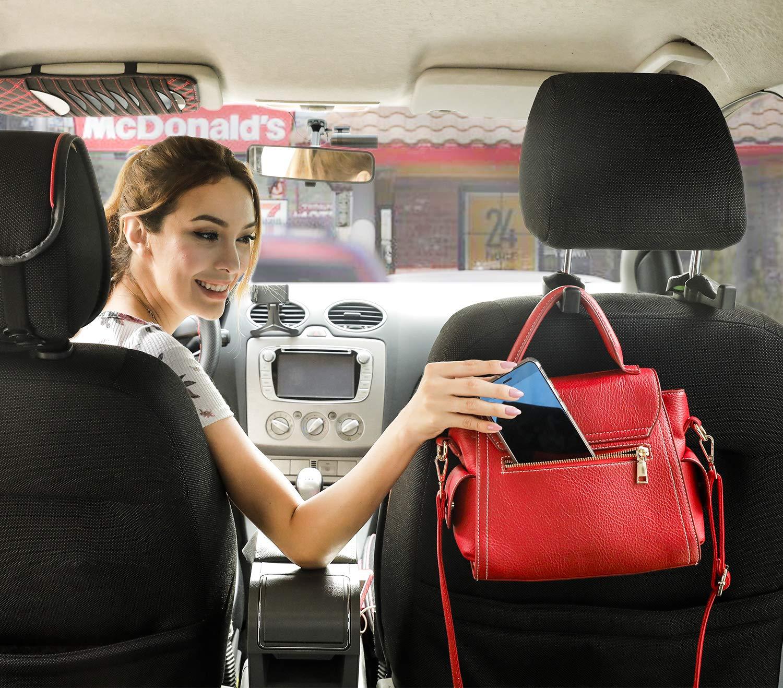 Phovana Car Purse Hook for Car Headrest Hook