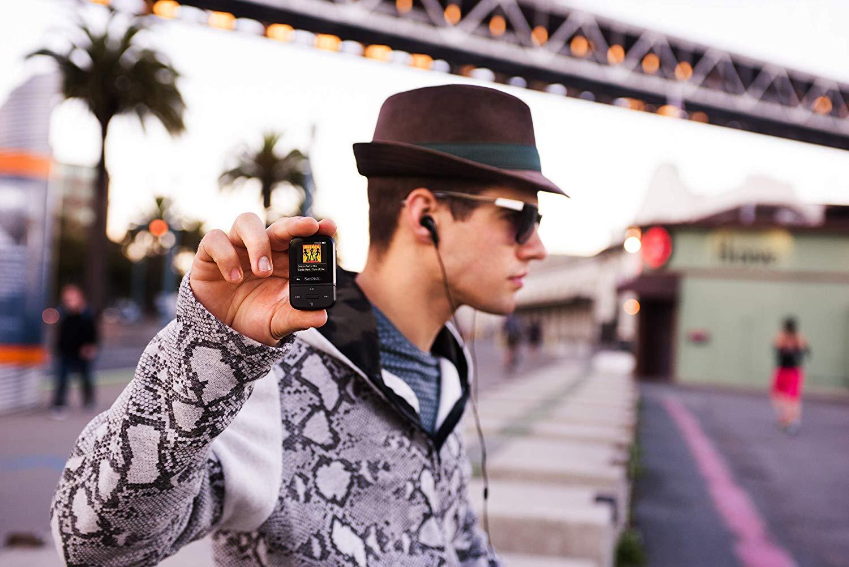 SanDisk 32GB Clip Sport Go MP3 Player