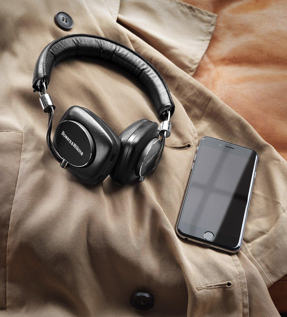 Bowers & Wilkins P5 Wireless Bluetooth On-Ear Headphones