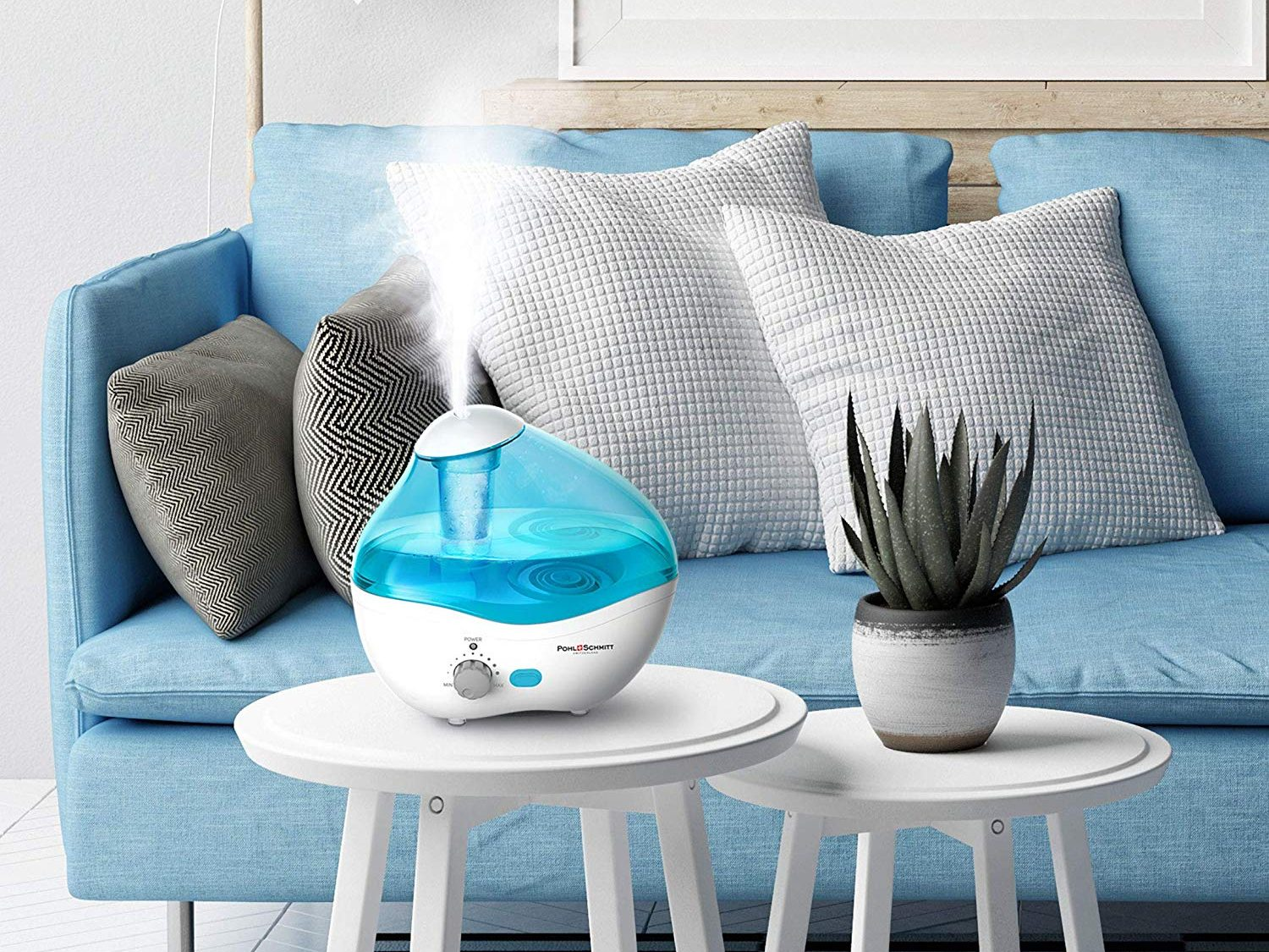 Ultrasonic Humidifier for Bedrooms