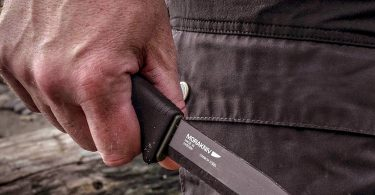Morakniv Bushcraft Carbon Fixed Blade Knife