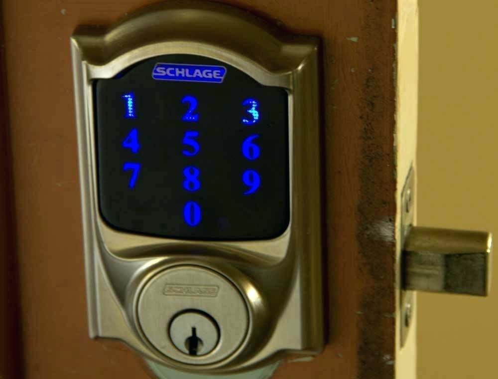 Schlage Z-Wave Connect Camelot Touchscreen Deadbolt with Built-In Alarm