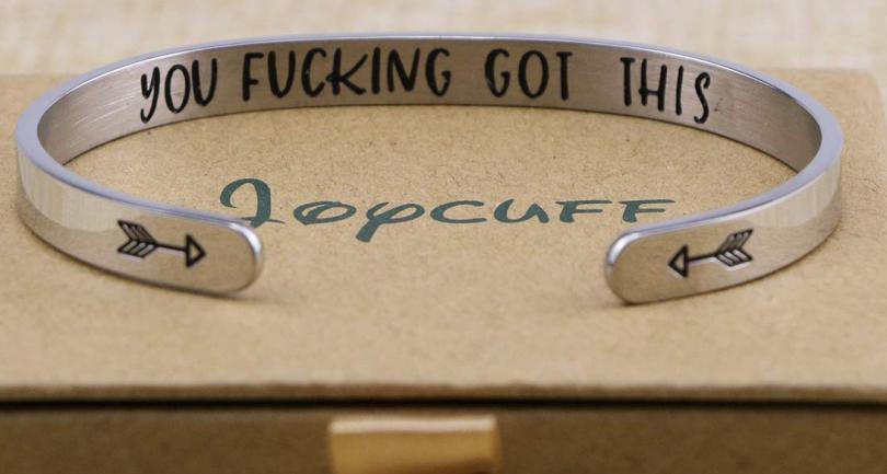 Joycuff You F*cking got this bracelet