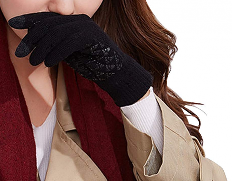 Libertepe Winter Knit Touchscreen Gloves