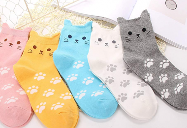 Jeasona Women's Cute Animals Socks for Girls1