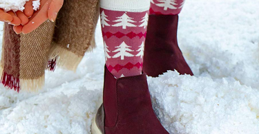 Women's Christmas Socks Set