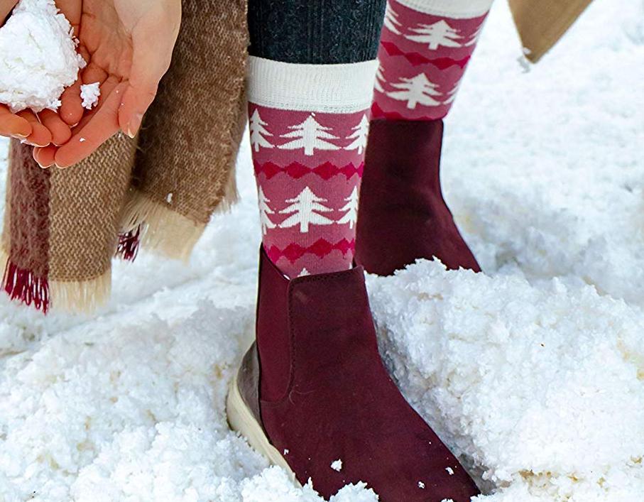 Women's Christmas Socks Set