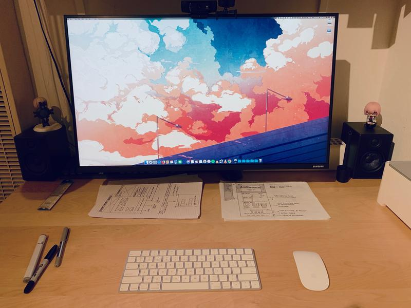 The Space by Samsung 27 Inch WQHD Bezel-less Monitor