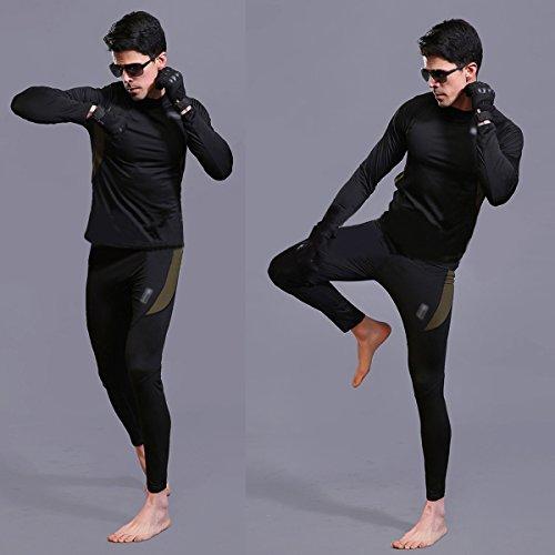 UNIQUEBELLA Men's Thermal Underwear Set