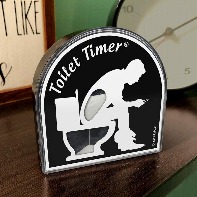 Toilet Timer by Katamco