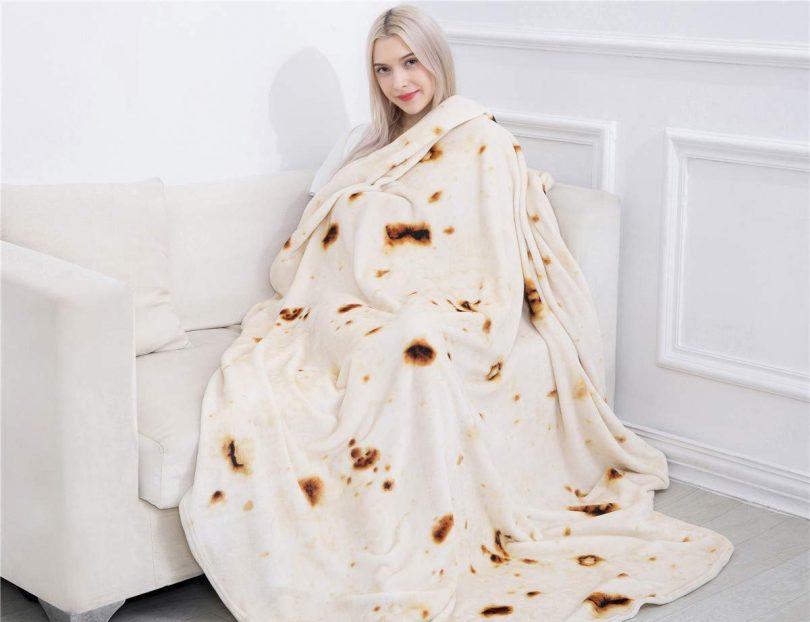 Jorbest Burritos Tortilla Blanket