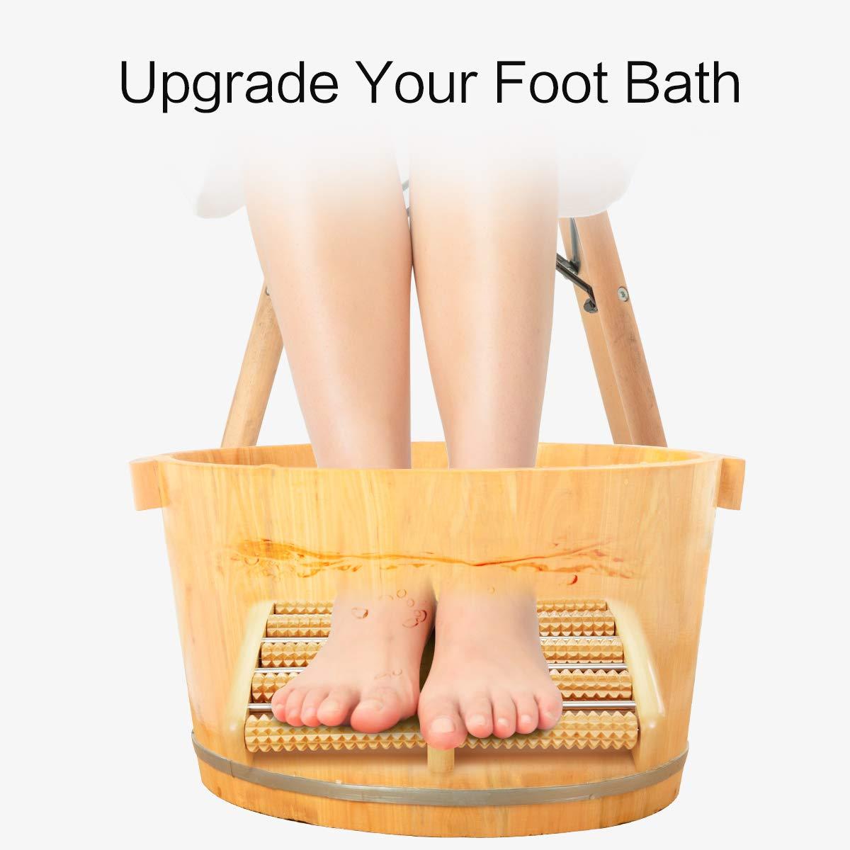 Dual Foot Massager Roller