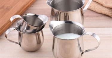 ELEC TECH Stainless Steel Milk Frothing Pitcher