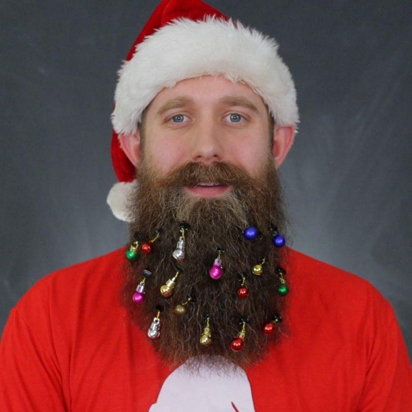 DecoTiny 16pcs Beard Ornaments