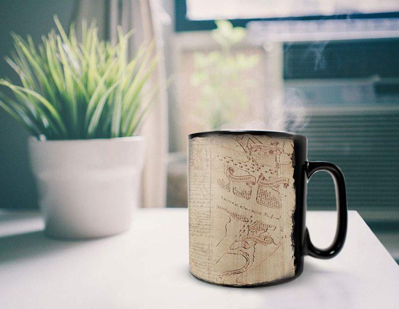 Morphing Mugs Harry Potter Heat Reveal Ceramic Coffee Mugs