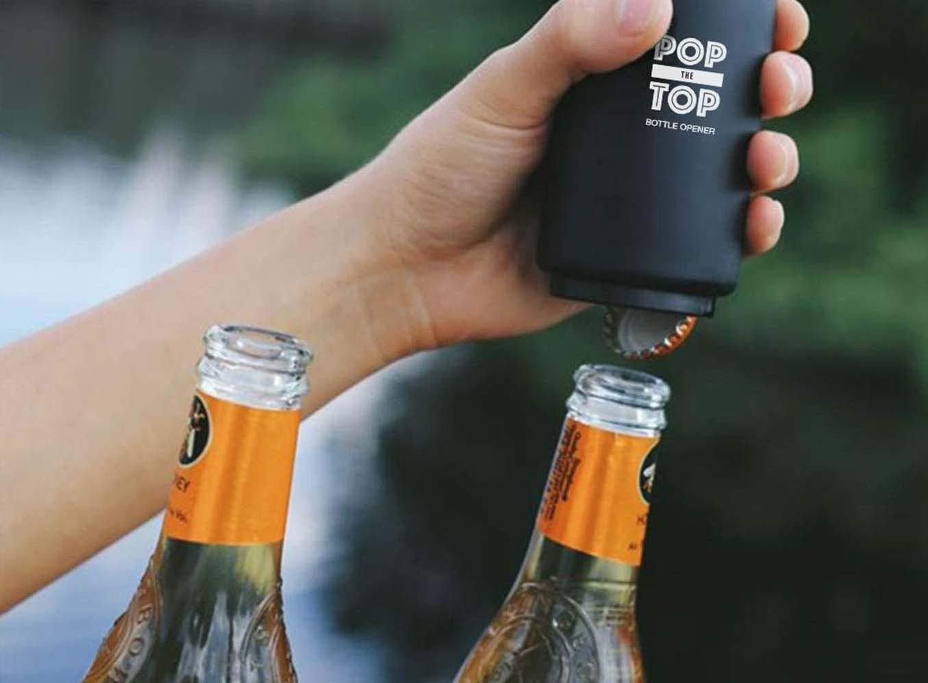 PoptheTop Automatic Beer Bottle Opener