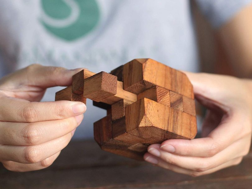 Hidden Passage: Wooden Puzzles for Adults