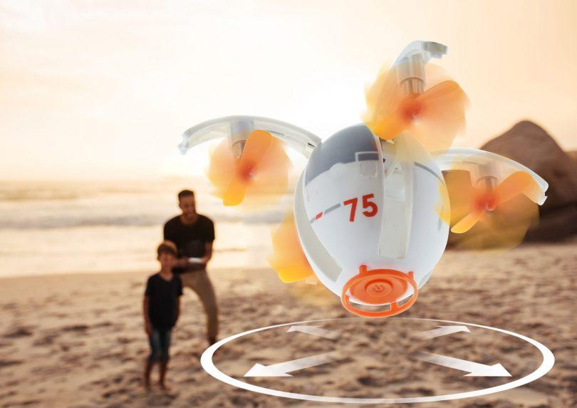Tenergy TDR RC Quadcopter Egg Drone