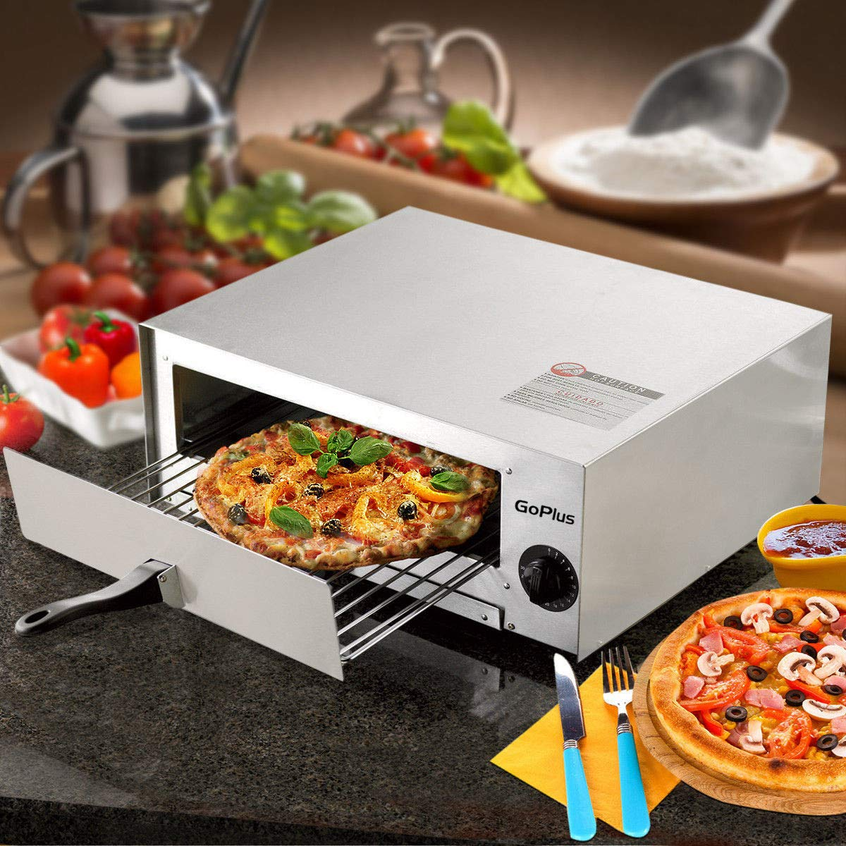 Family Kitchen Stainless-Steel Pis Roaster Built-in Temperature Control