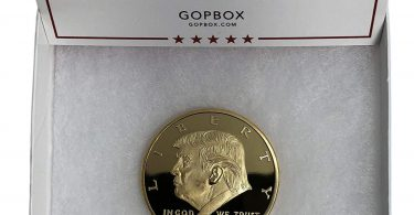Donald Trump Gold Coin