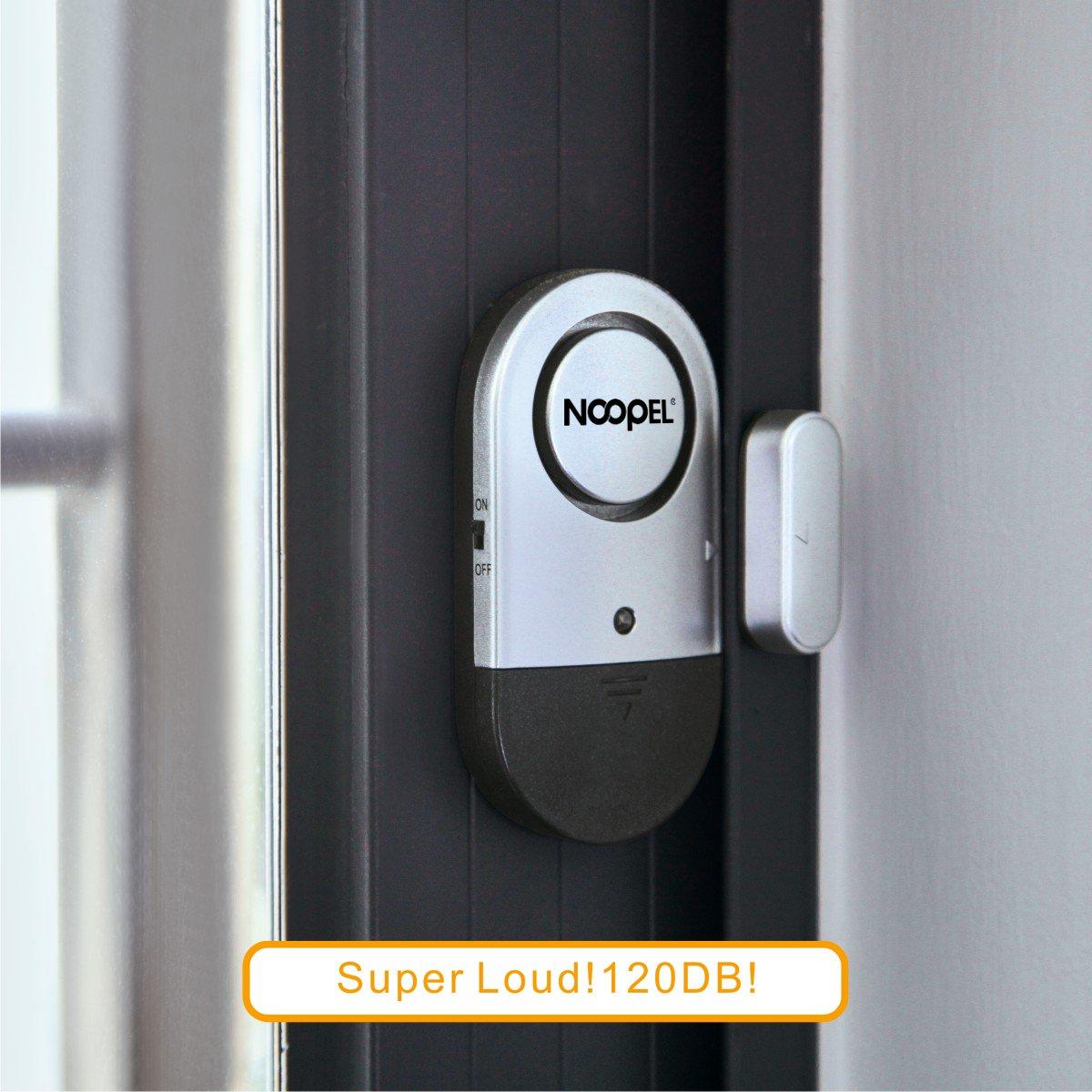 Door Window Alarm 2 Pack Noopel