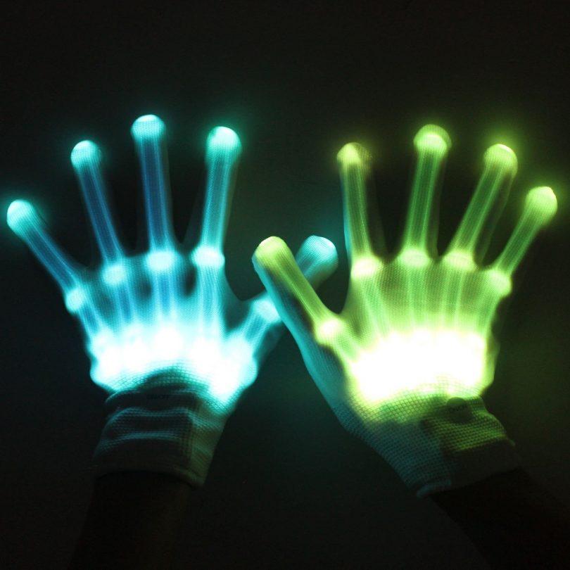 MAGIFIRE Led Skeleton Gloves