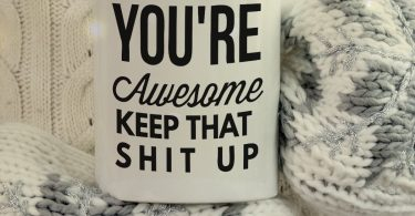 You're Awesome Unique Ceramic Novelty Holiday Christmas Hanukkah Gift