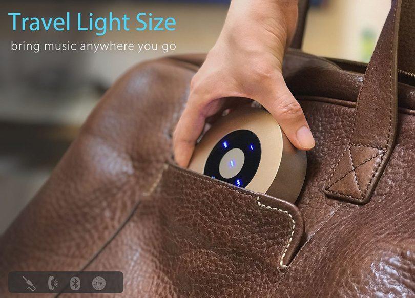 XLEADER SoundAngel (2 Gen) 5W Louder Bluetooth Speaker with Waterproof Case