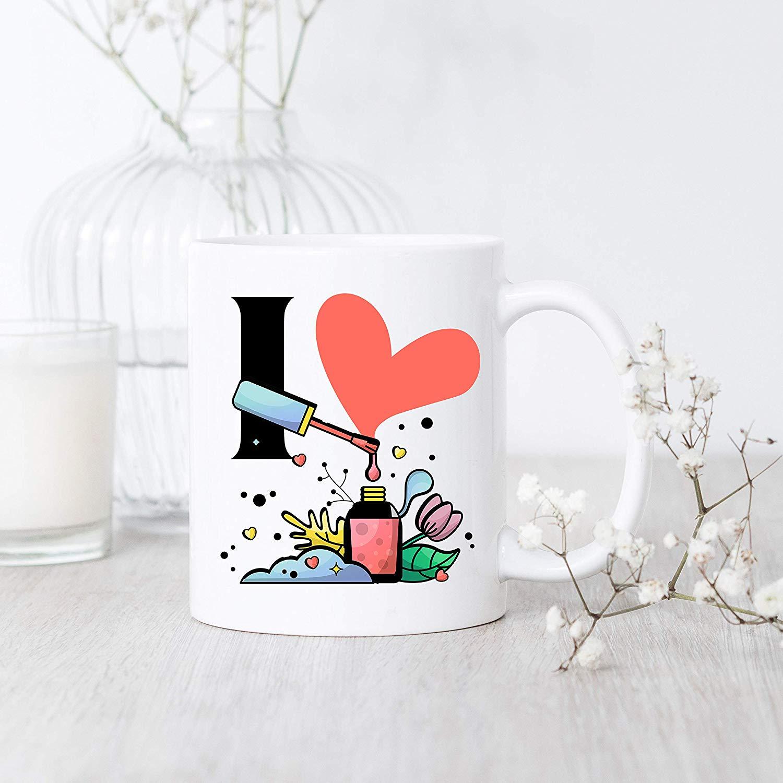 I Love Nail Polish/Mug/Nail Polish Mug