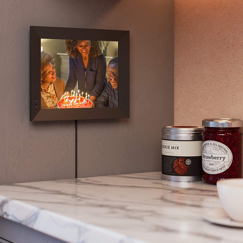 Nixplay 2K Smart Digital Photo Frame 9.7 Inch