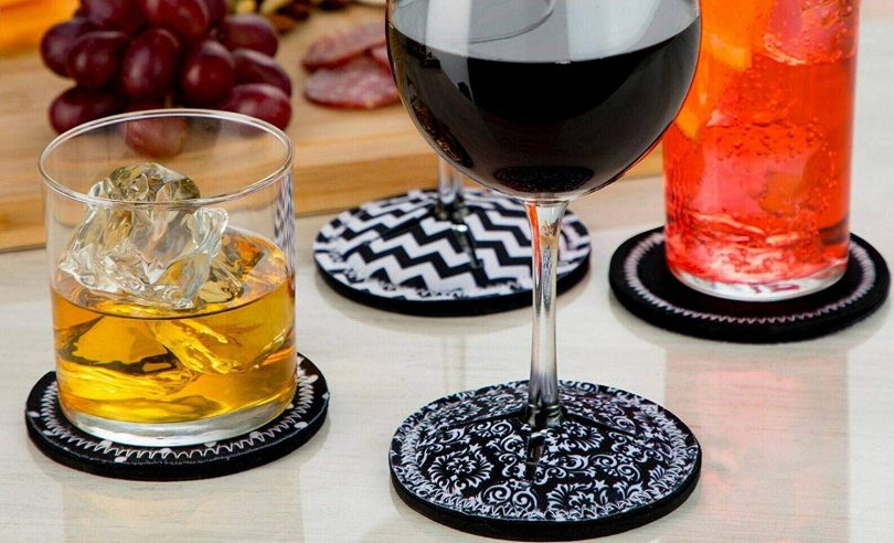 CloverLane Direct Coasters for Drinks Absorbent
