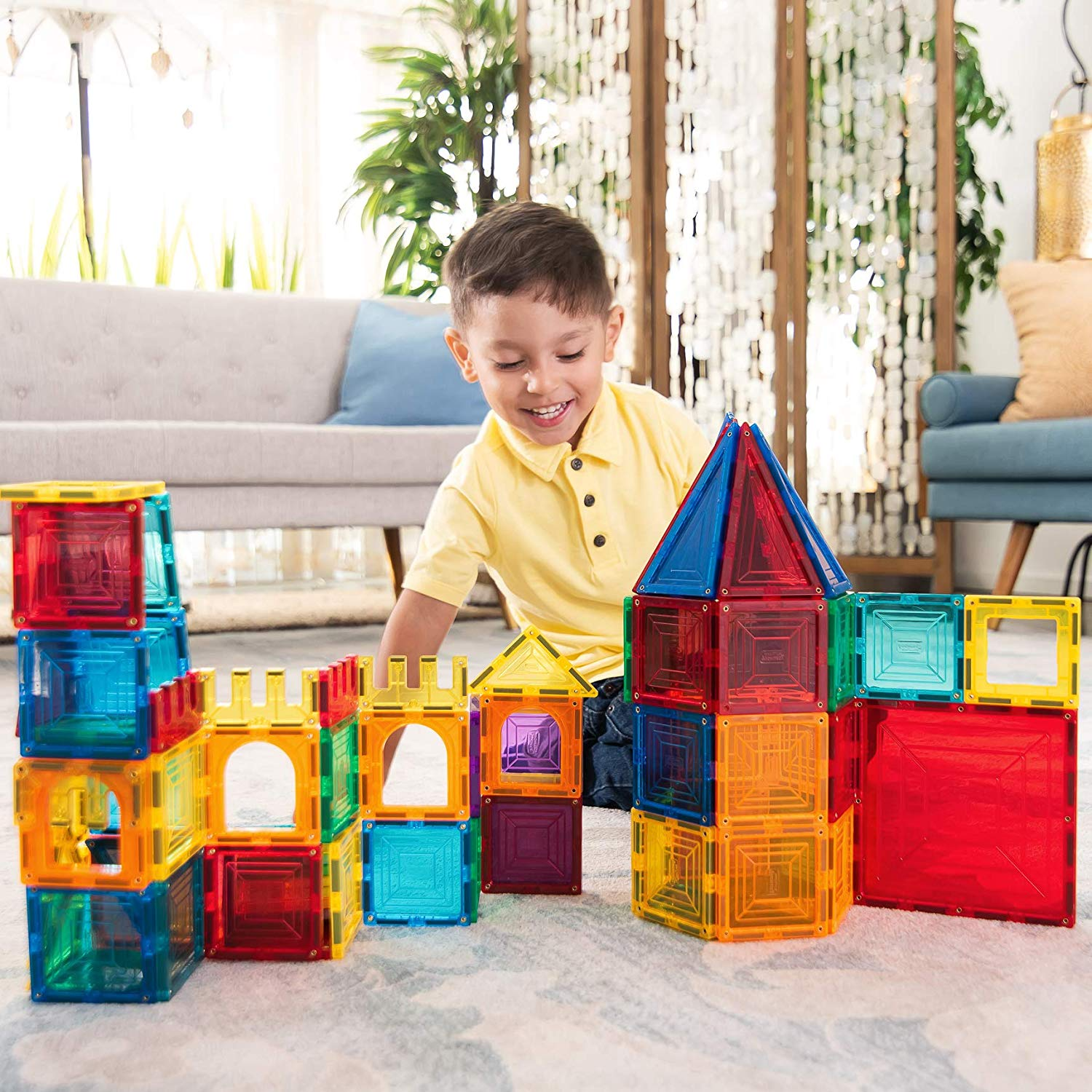 My Little Architect, Magnetic Tiles for Kids
