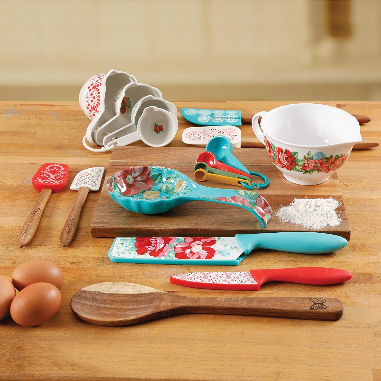 The Pioneer Woman 20 Piece Kitchen Gadget Utensil Set